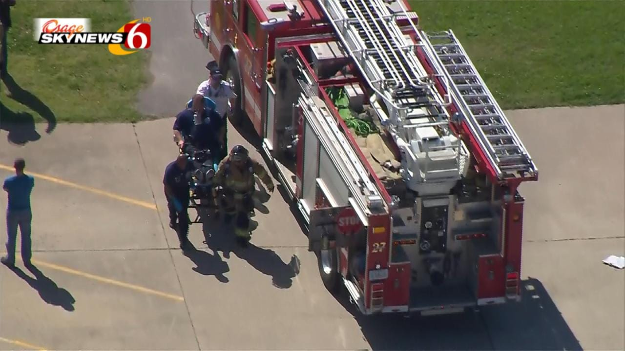 Firefighter Injured In Incident At East Tulsa Industrial Company