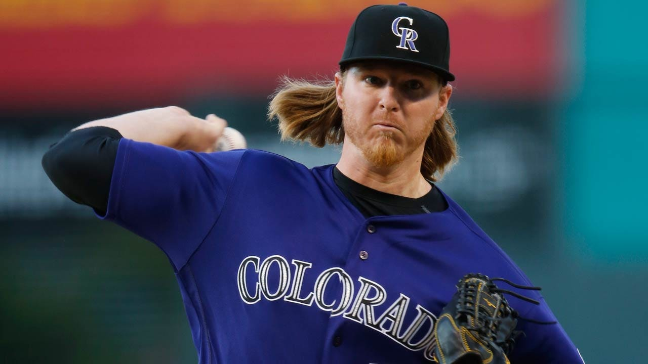 Former Sooner, Tulsa Driller Jon Gray Impresses In Season Debut For Colorado Rockies