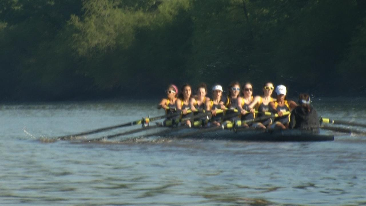 Tulsa's Rowing Club Competes In First Regatta Since January Fire