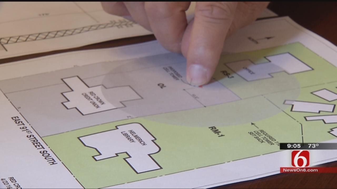 South Tulsans Oppose Proposed Cell Tower In Neighborhood