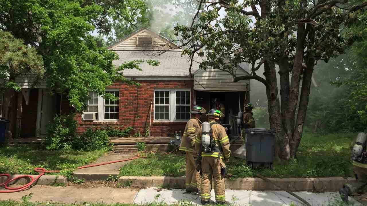 Tulsa Firefighters Investigate After Duplex Catches Fire