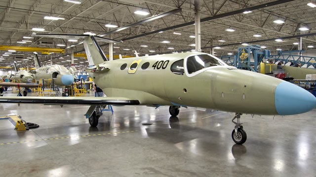 Wichita's Cessna Gets $14 Million Air Force Contract