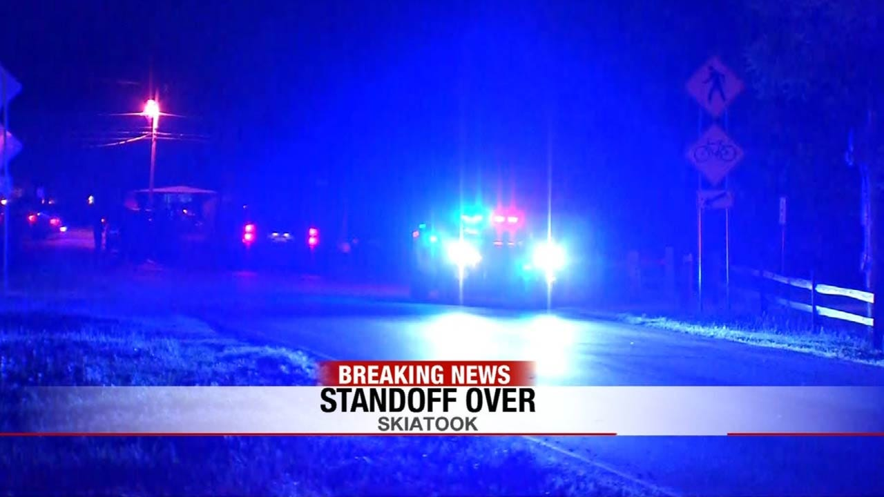 Five-Hour Skiatook Standoff Ends With Man In Custody