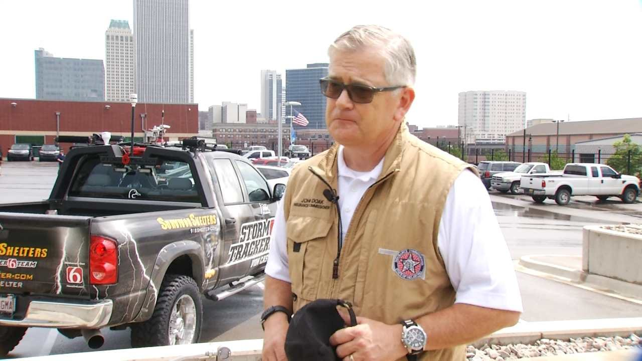 OK Insurance Commissioner Rides With News On 6 Storm Trackers
