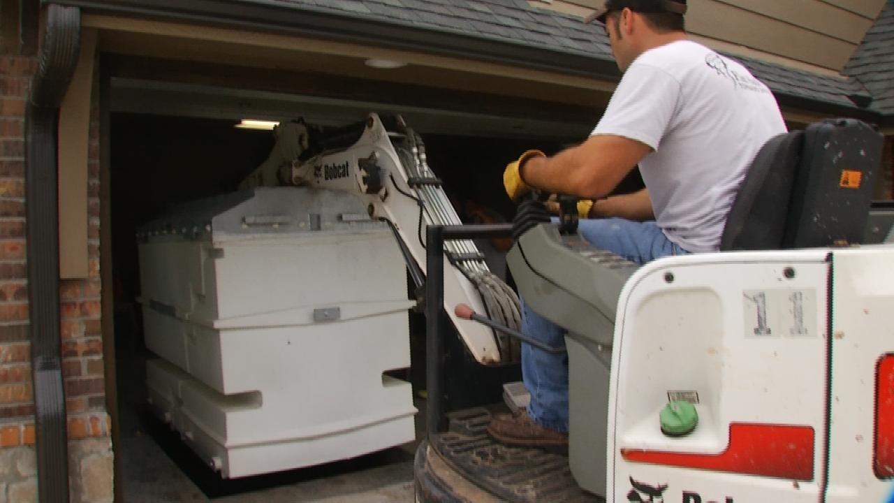 Storm Shelter Gives Tulsa Man 'Peace Of Mind' During Severe Weather