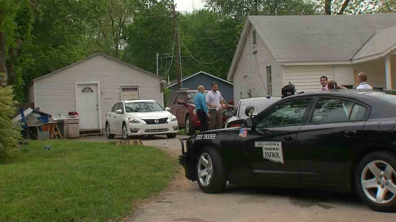 Troopers Find Stolen Car, Arrest Tulsa Man Wearing Stolen Shoes