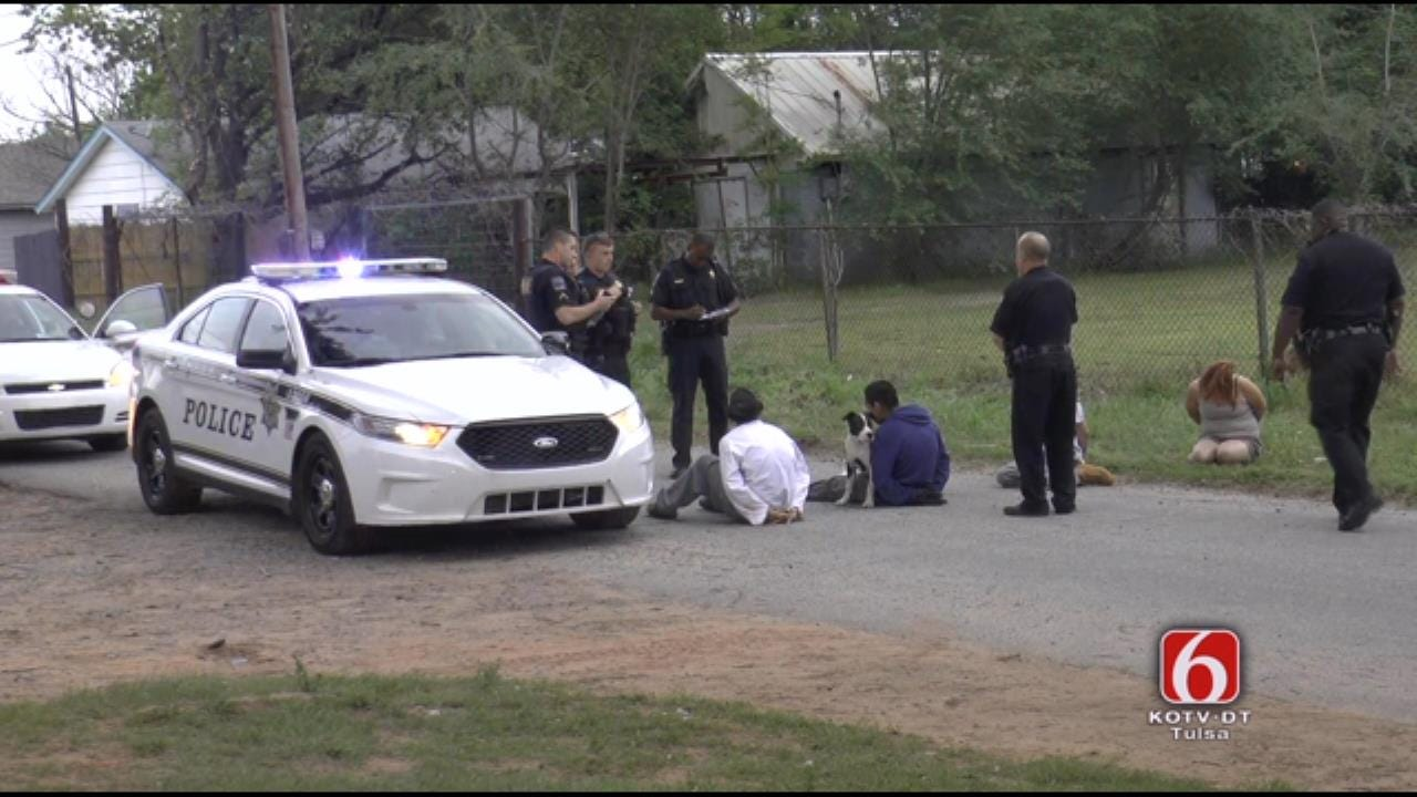 Tulsa Police Arrest Two After Stopping Stolen SUV