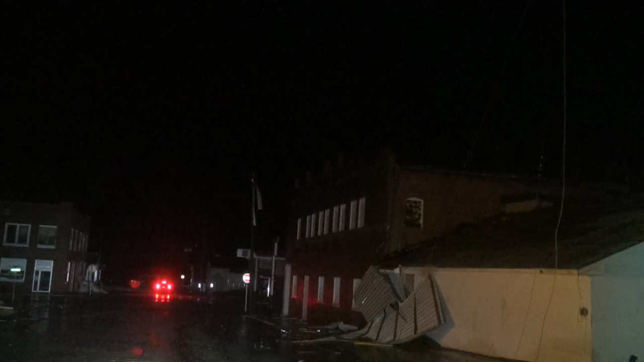 Checotah Hit By Possible Tornado
