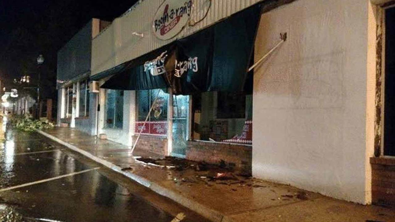 Checotah Mayor: Downtown Hit By Strong Winds, Possible Tornado