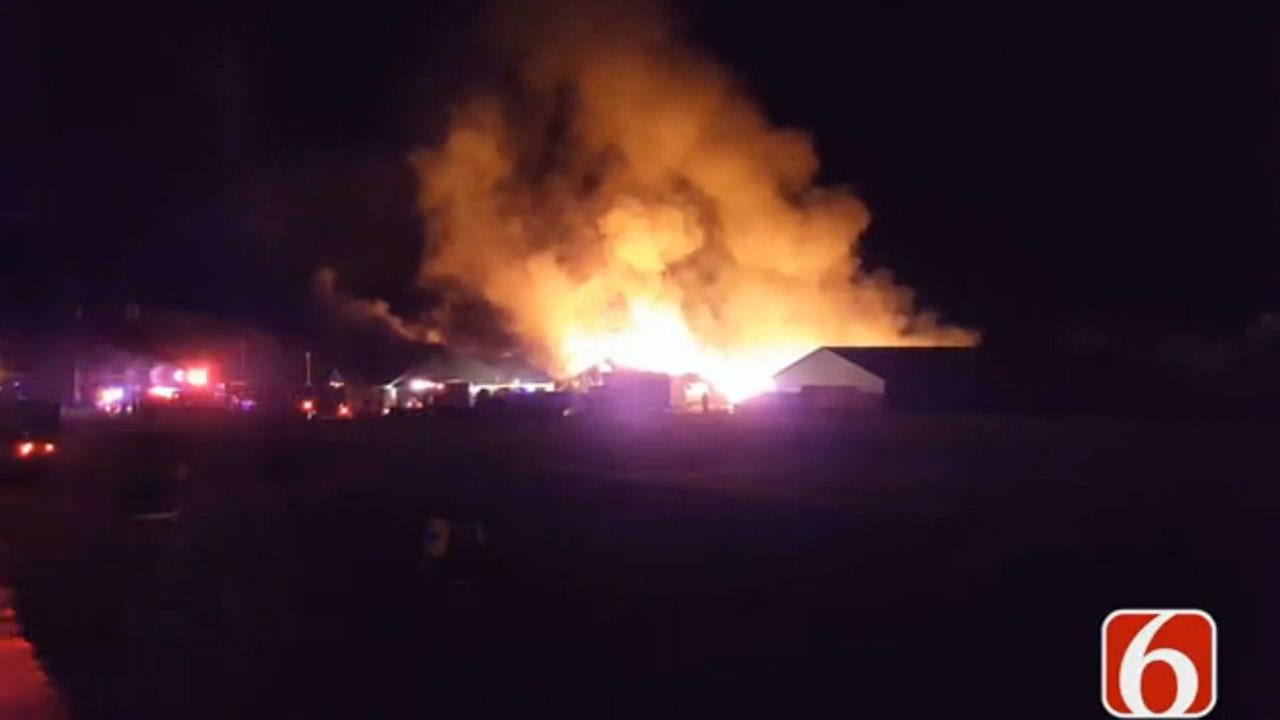 Fire Destroys Washington County Business