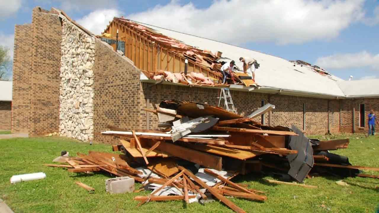 NWS: Tulsa Tornado Rated EF1, Near 51st And Riverside