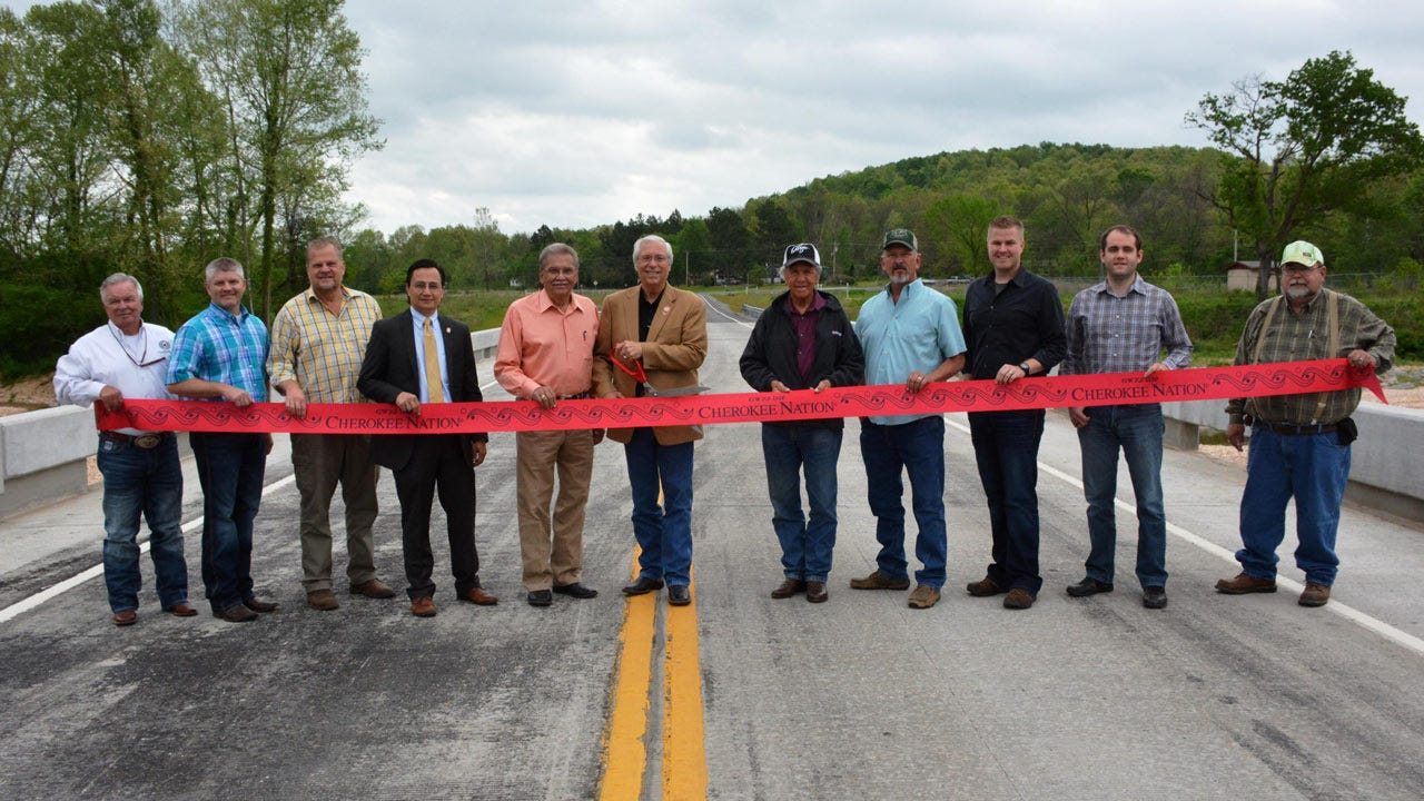 Cherokee Nation Replaces Four Delaware County Bridges
