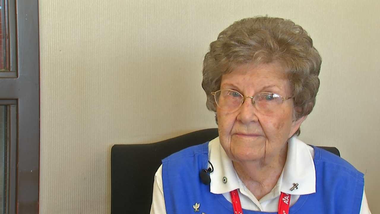 Red Cross Volunteer 90, Retires After 3 Decades Of Service