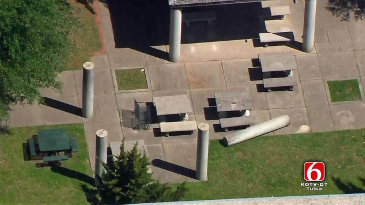 TPS To Remove Concrete Pillars After Edison Student Crushed
