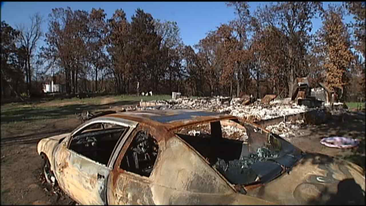 Young Creek Co. Wildfire Victim Remembers Loss Following Arson Arrest