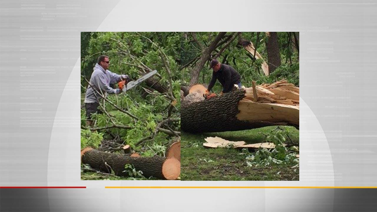 Bartlesville's Johnstone Park Remains Closed Due To Storm Damage