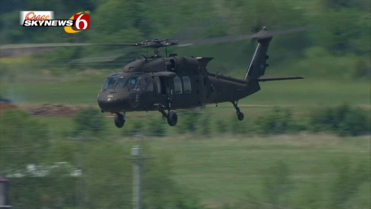 Oklahoma National Guard Soldiers Train For Middle East Mission