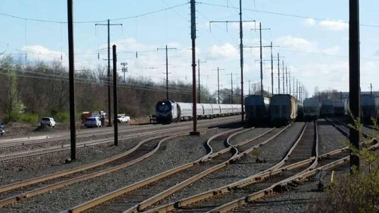Fatalities Reported In Amtrak Train Crash Near Philadelphia