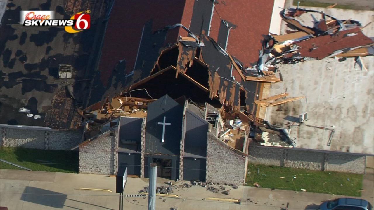 North Tulsa Churches Join To Help Tornado-Stricken Community