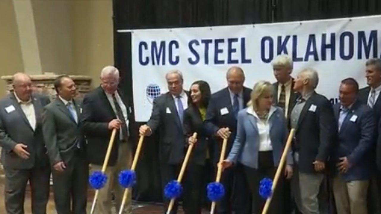 Ground Broken For New Steel Mill In Durant