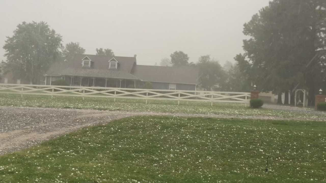 Wagoner County, Coweta Pelted With Hail During Friday Storm