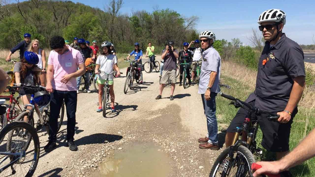 OU Students Team With Tulsa Tough For West River Bank Designs