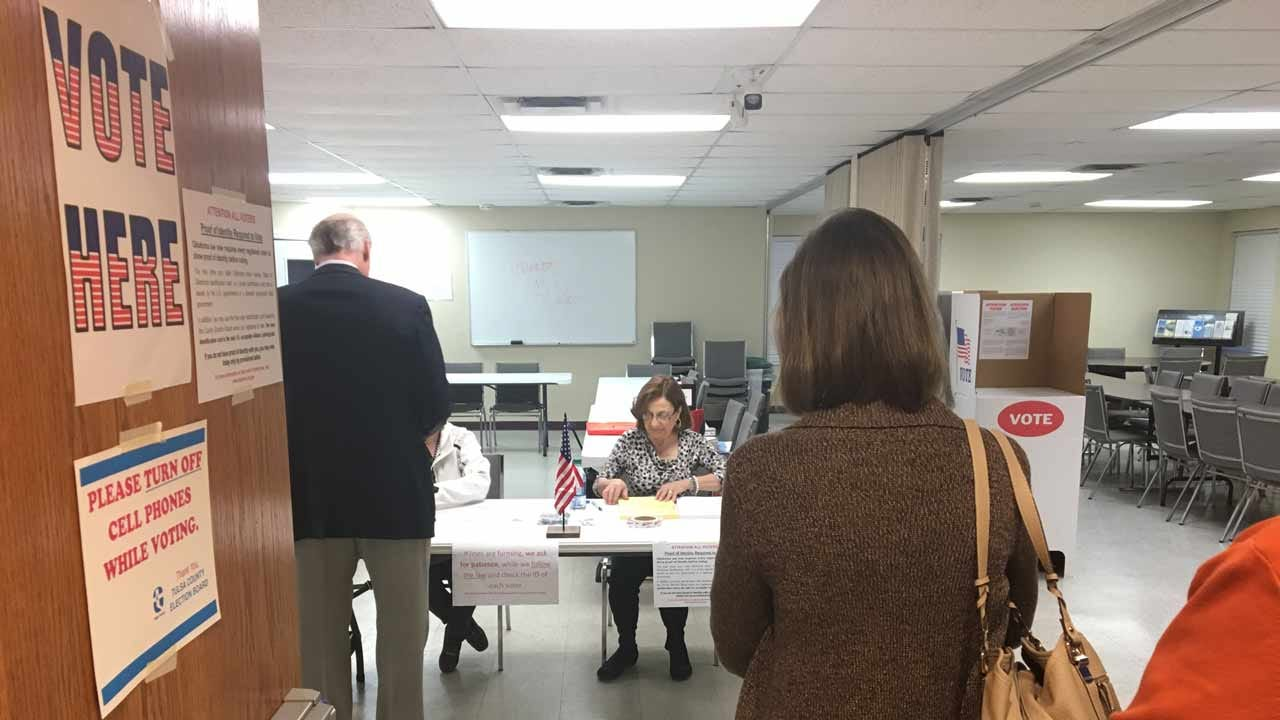 Polls Open As Tulsa County Voters Decide Fate Of 'Vision' Sales Tax
