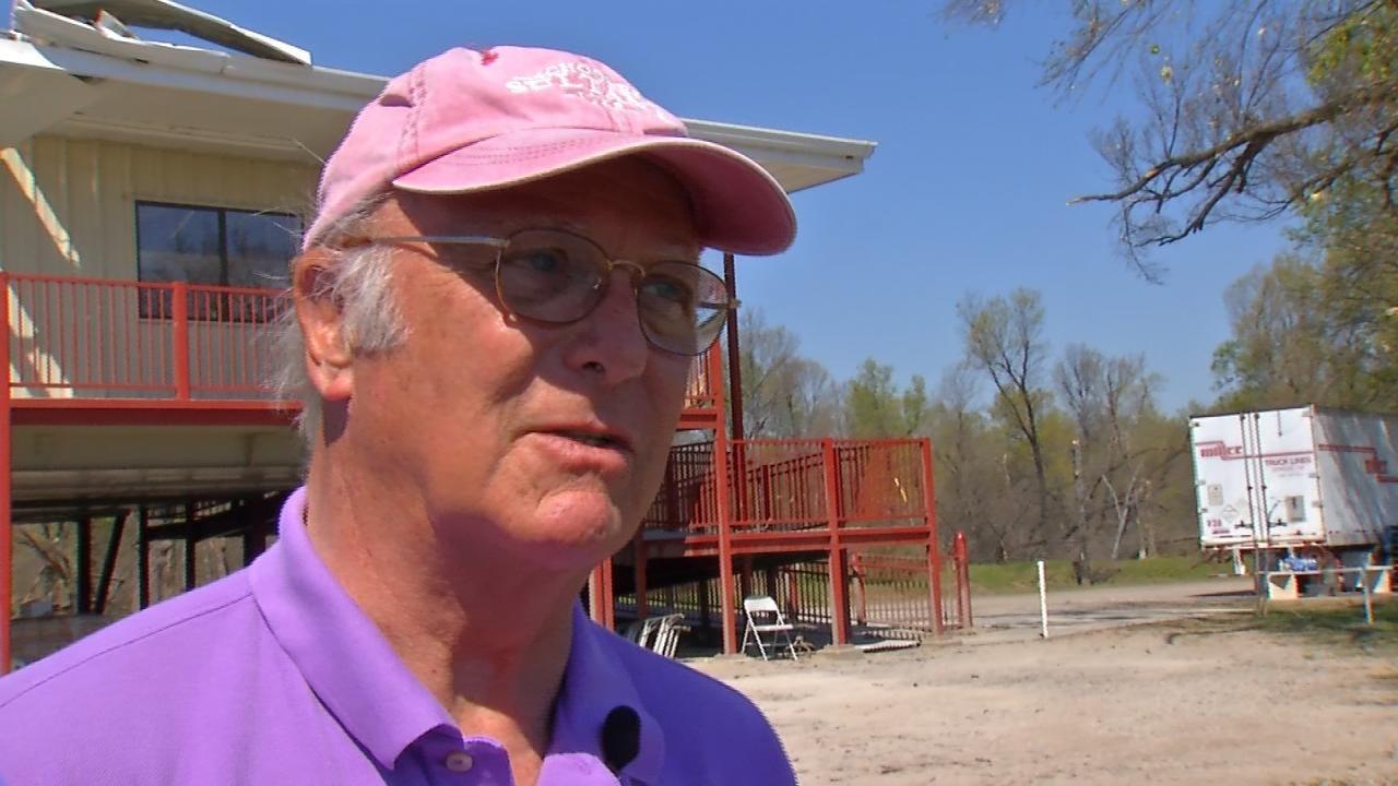Volunteers Help Tulsa Gun Club Clean Up Tornado Damage
