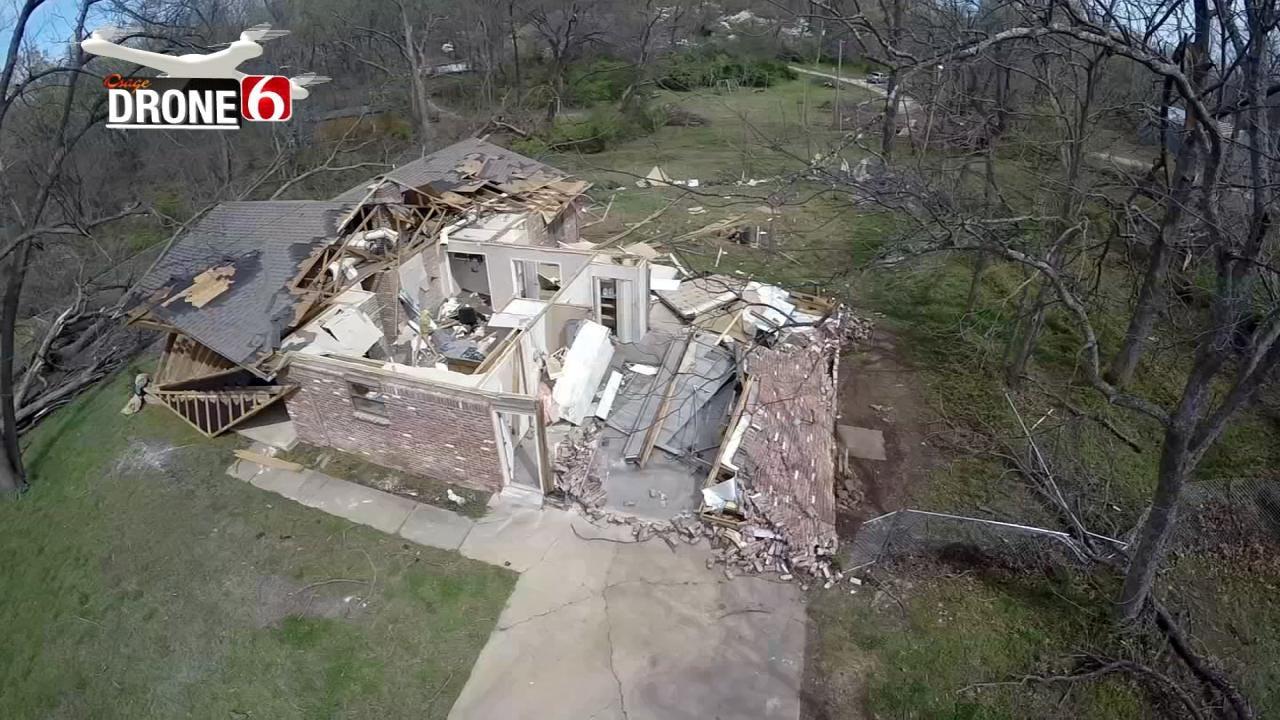 DRONE 6: Video Of Claremore Tornado Damage