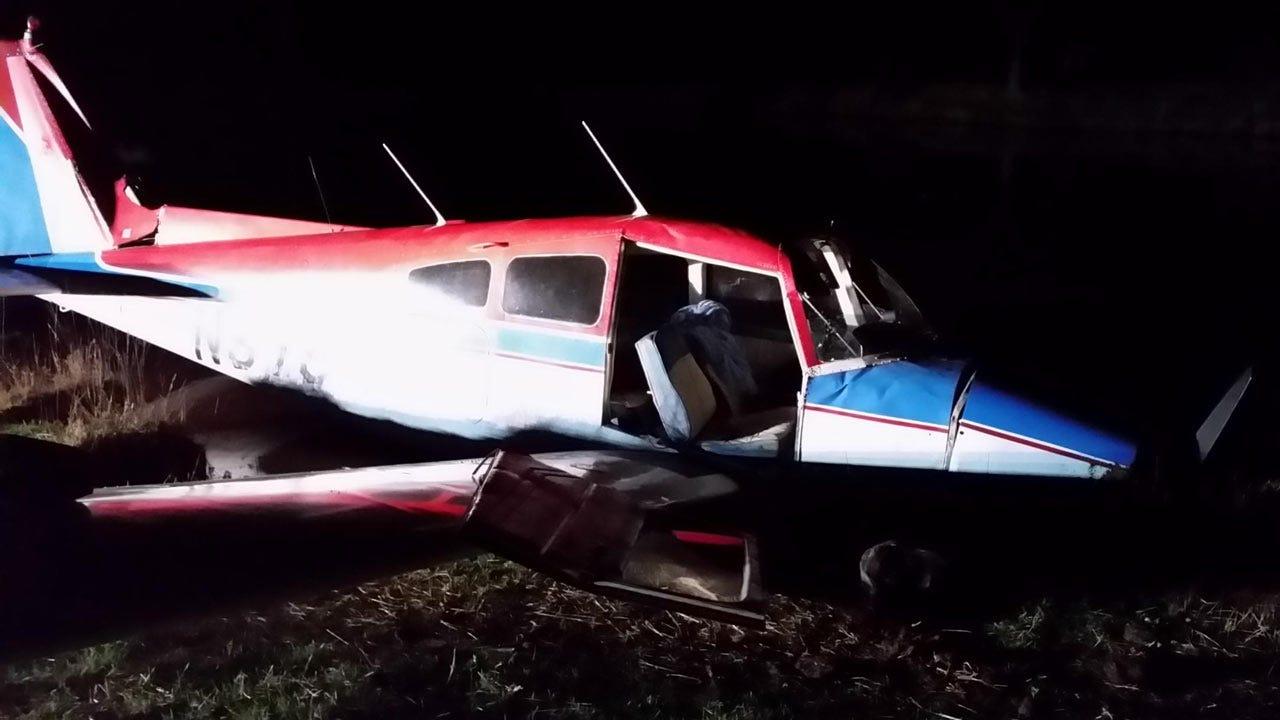 Pilot, Passenger Safe After Hard Landing In Rural Cherokee County