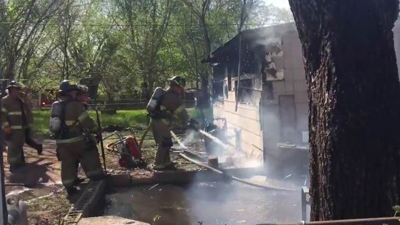 Two Firefighters Injured, Five Animals Killed In Tulsa House Fire
