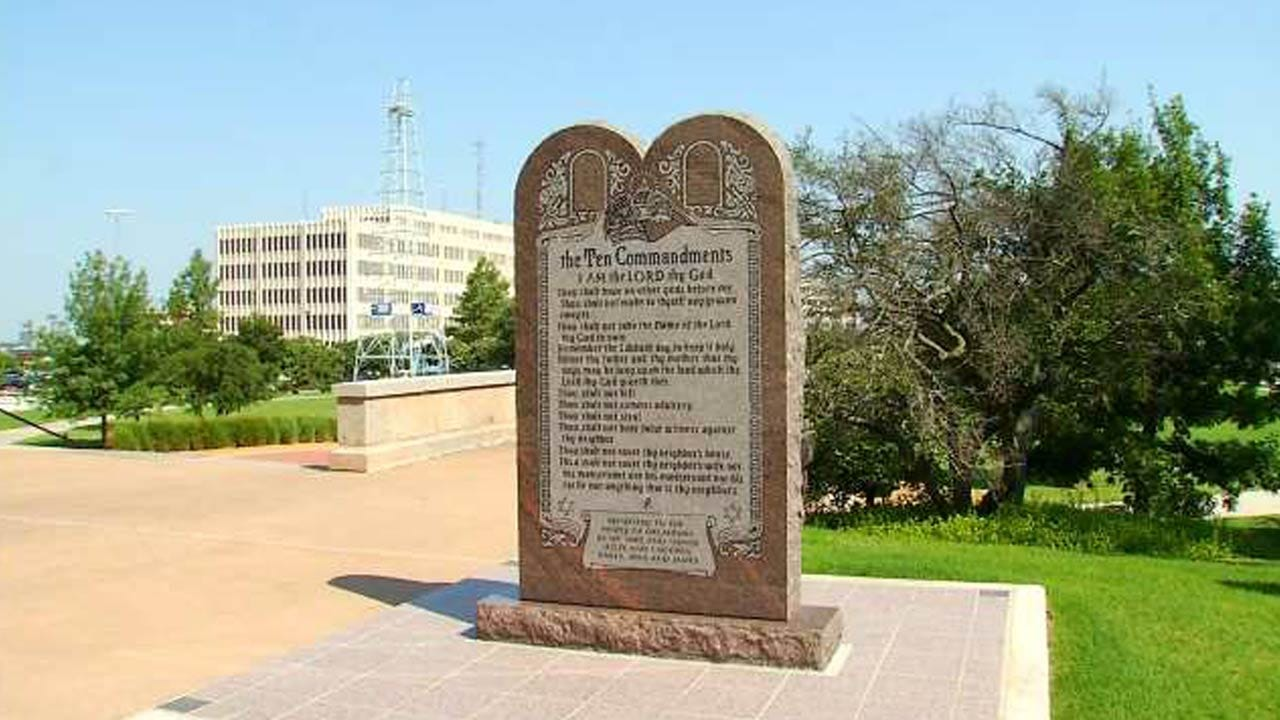 Plans To Return Ten Commandments Monument To Oklahoma Capitol Headed To House, Senate