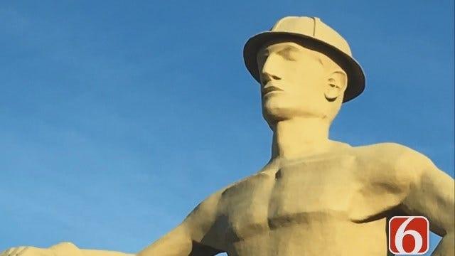 Share Your Photos As Tulsa Golden Driller Turns 50