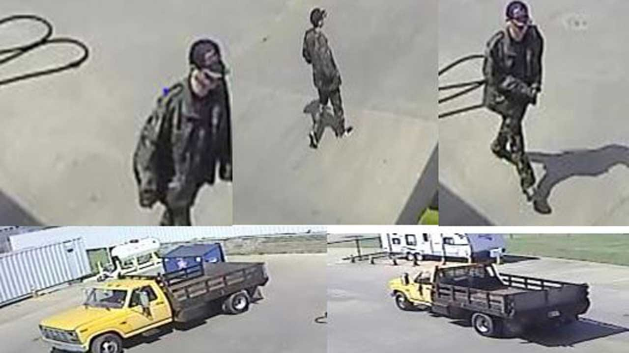 Tulsa Police Look For Stolen Truck, Person Of Interest