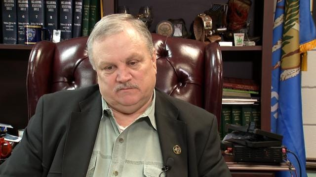Wagoner County Sheriff Suspends Himself After Grand Jury Indictment