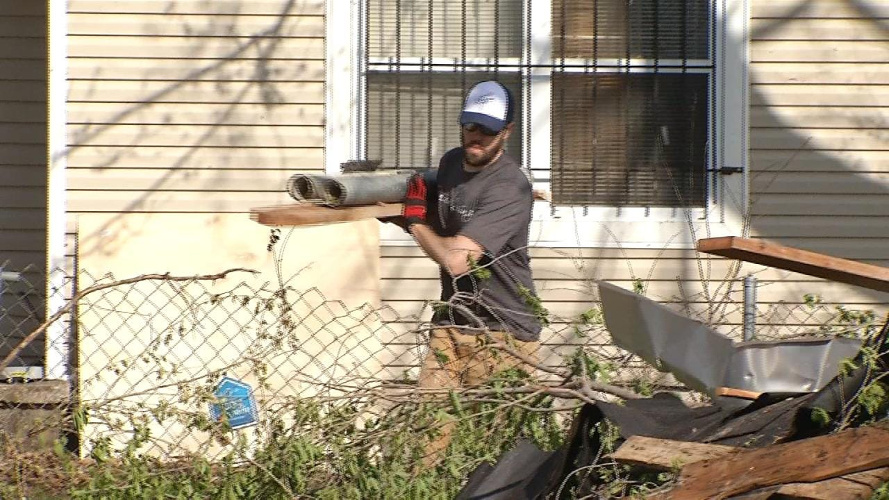 City Helps With North Tulsa Tornado Cleanup, Offers Free Landfill Days