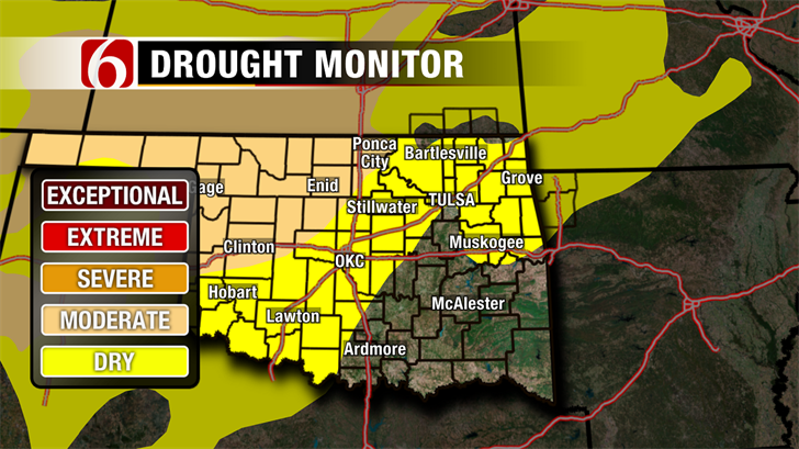 Drought Rears Its Ugly Head.