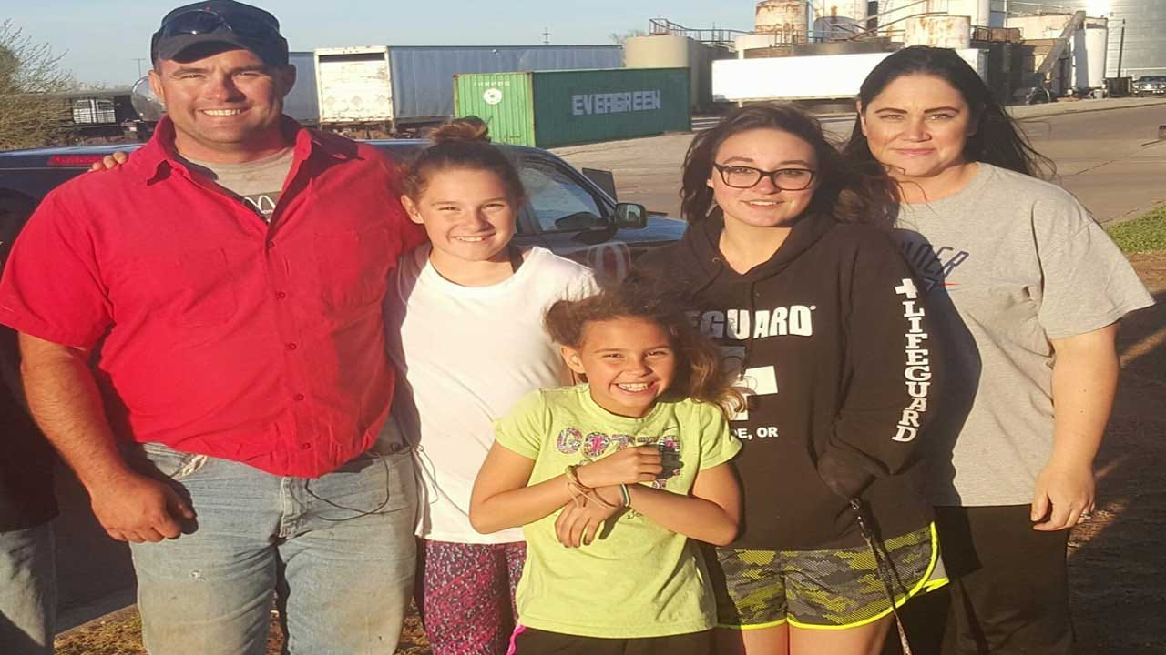 Man Rescued In Oklahoma Wildfire By Val And Amy Castor Shares Experience