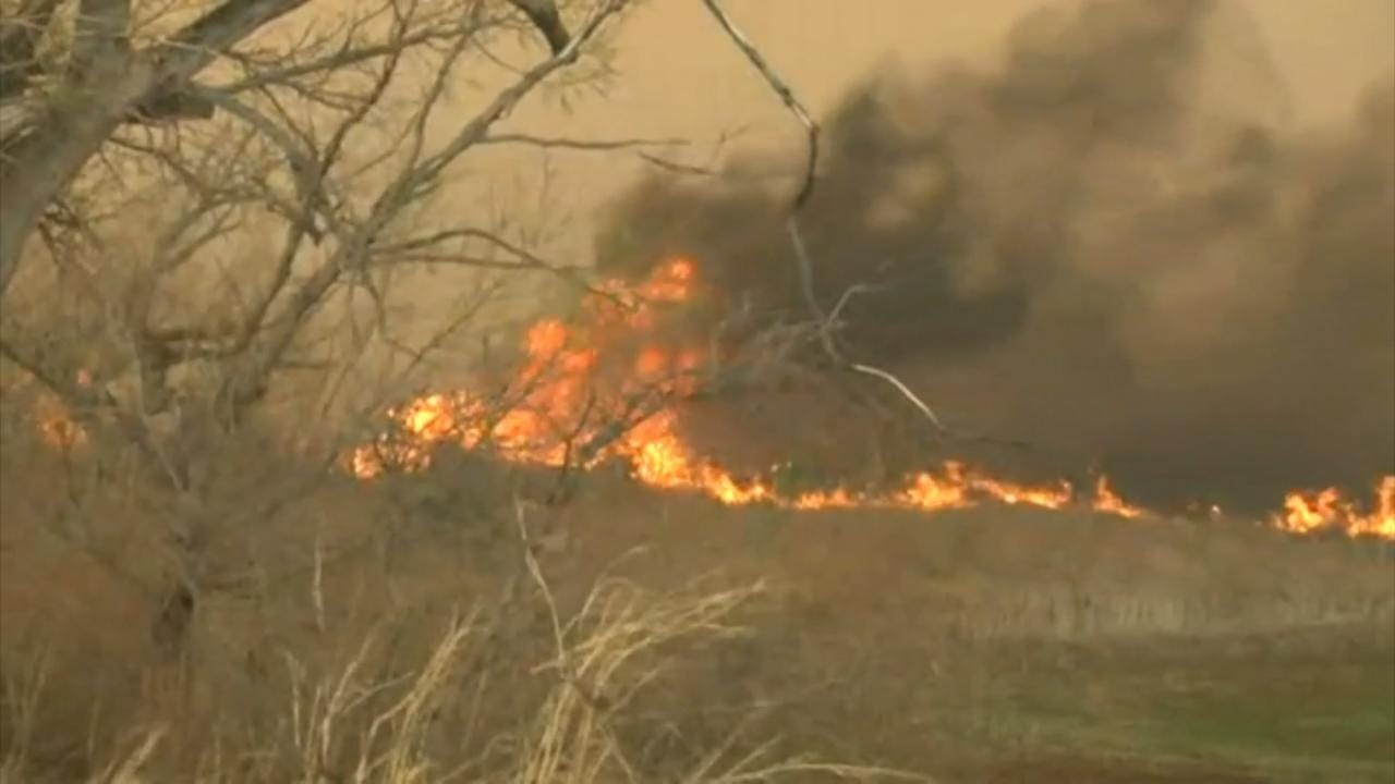 Oklahoma Wildfires Continue To Burn