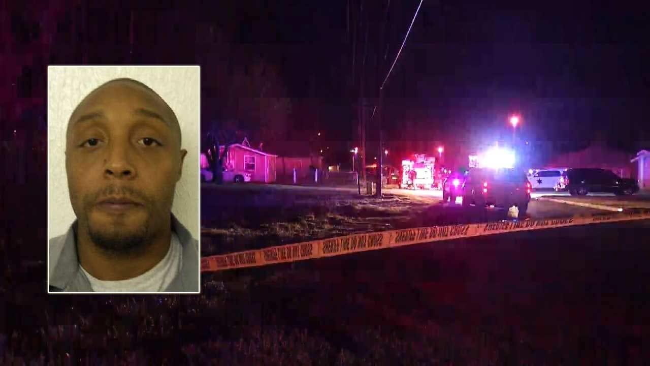 Tulsa Deputies Looking For Homicide Suspect