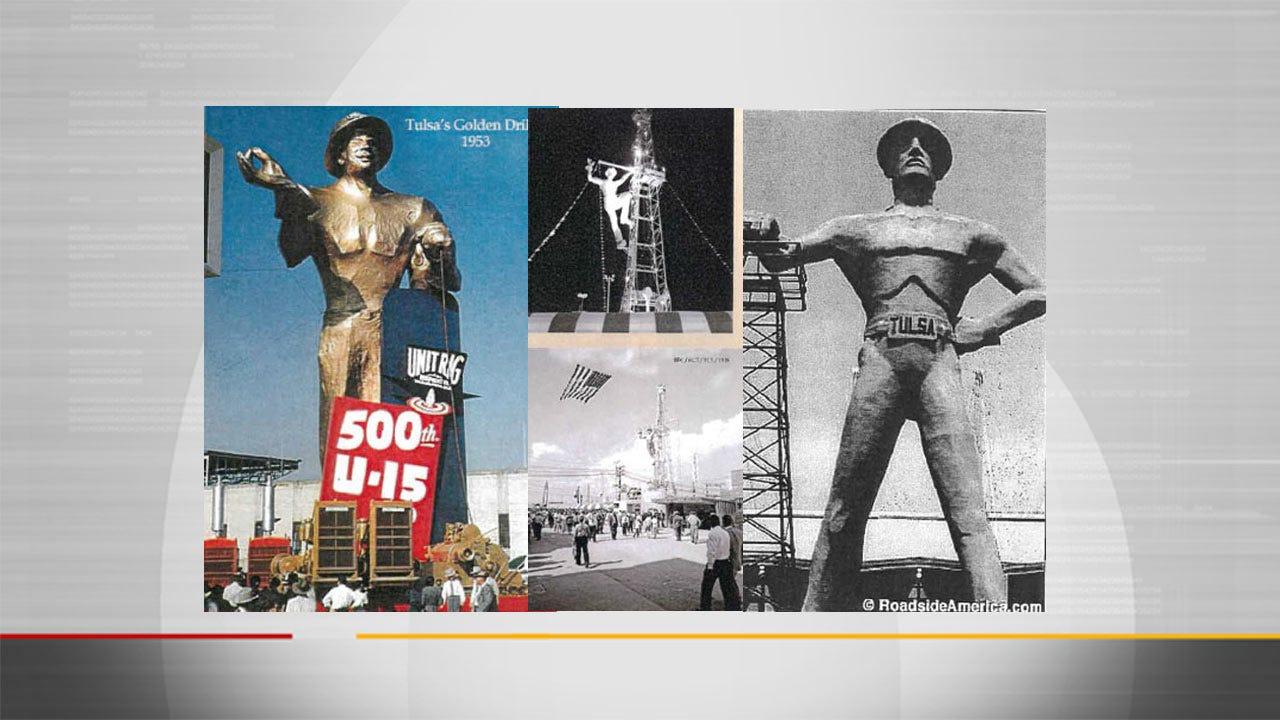 Tulsa To Mark The Golden Driller's 50th Birthday