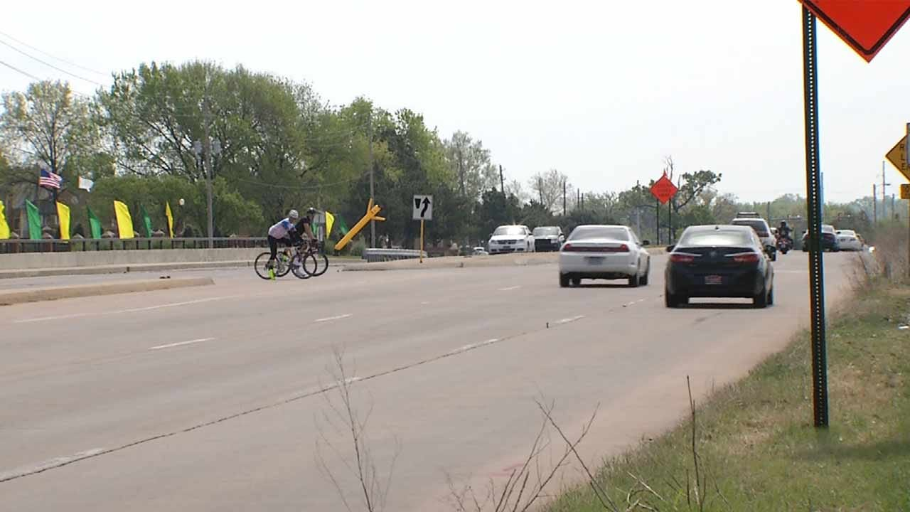Cyclist Forced Onto Riverside Drive By Construction Hit By Driver