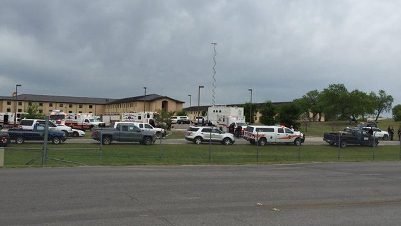 Deadly Shooting At Lackland Air Force Base