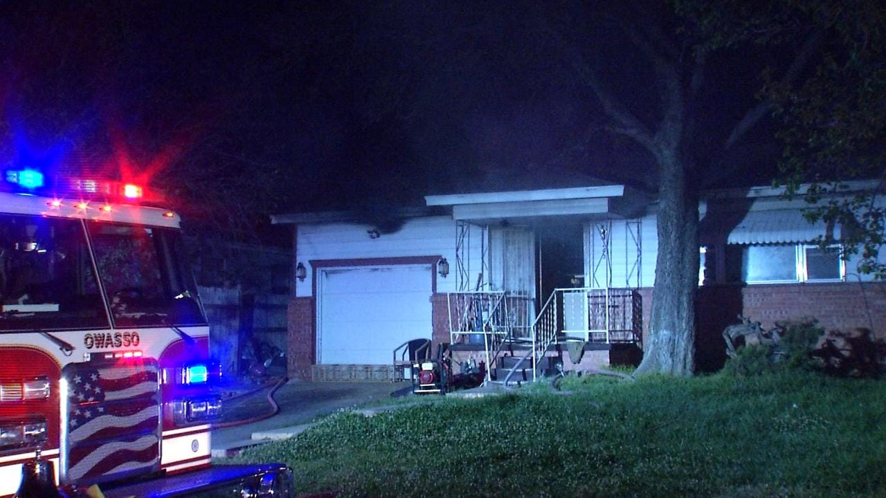 Fire Damages Owasso Home