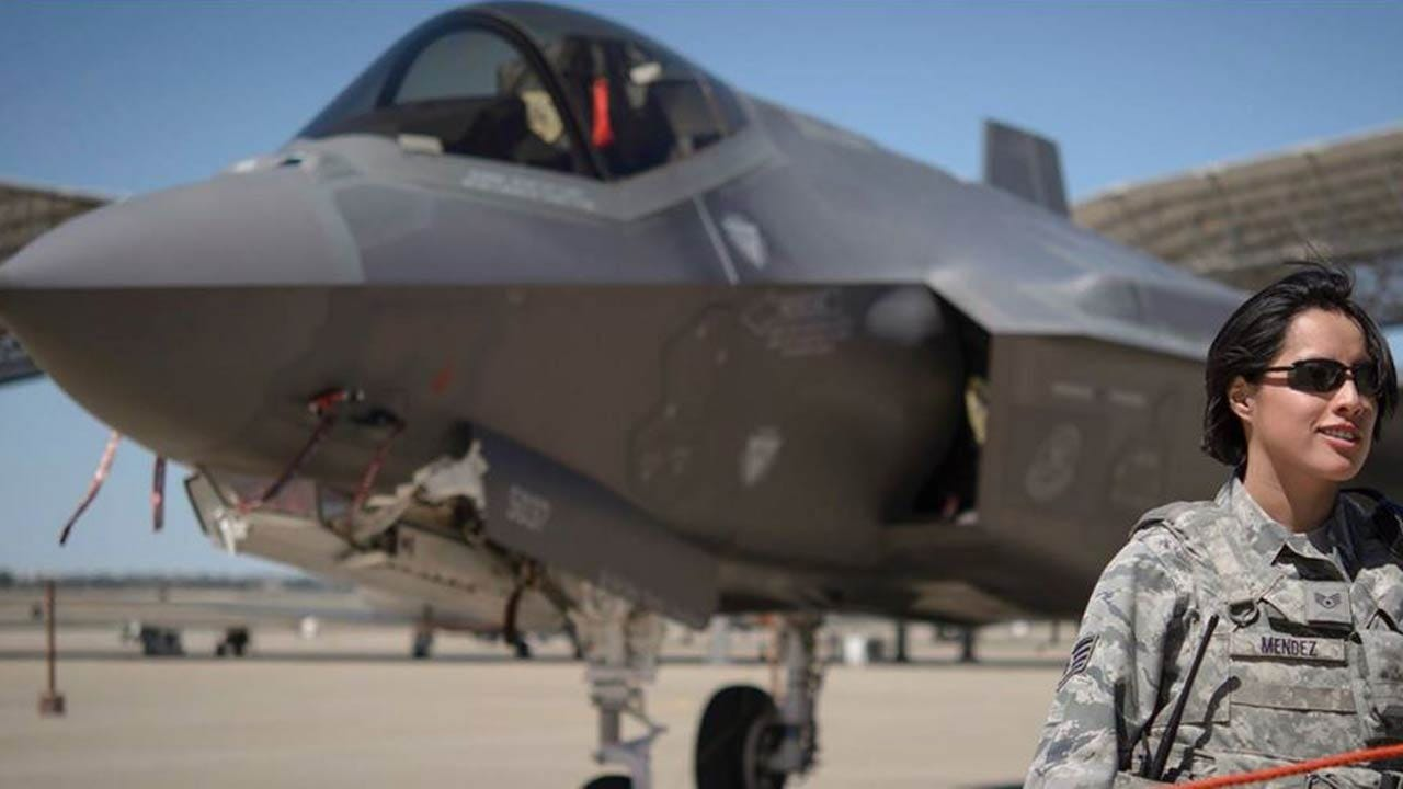 Two F-35 Jets Visit Vance Air Force Base