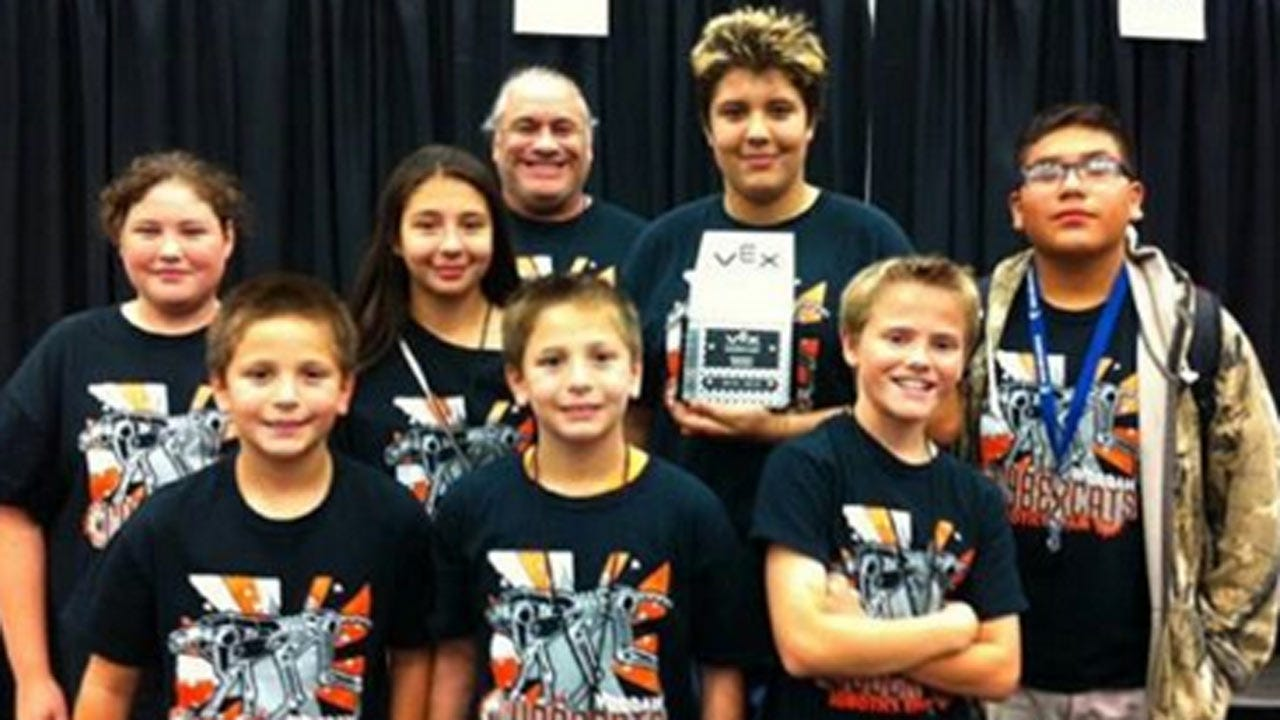 Tahlequah's School Robot Team To Be Showcased At The White House