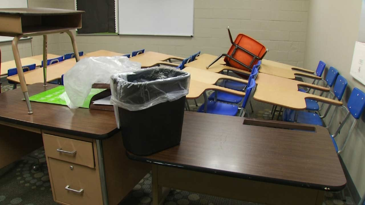 OK Schools Still Dealing With Storm Damage As First Day Approaches