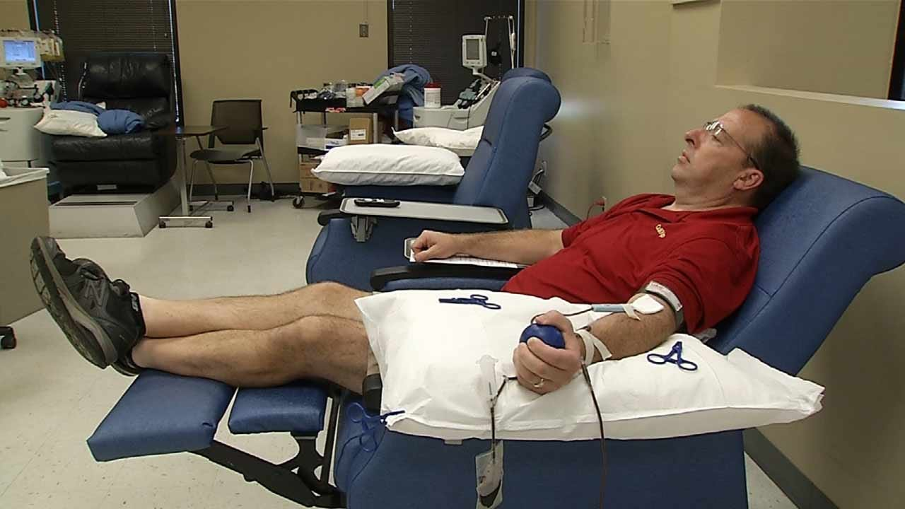 Organizers Offering Perks For Oklahomans Donating Blood
