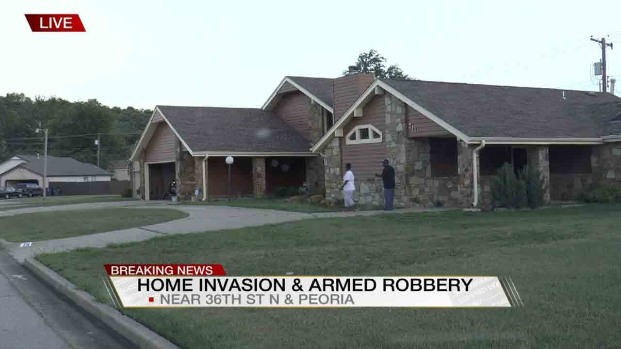 Tulsa Woman Held At Gunpoint In Home Invasion