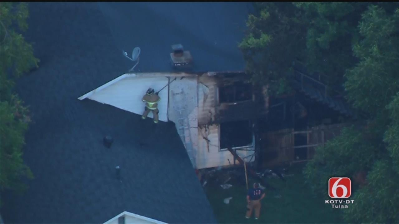 Tulsa-Area Firefighters Called Out To Two House Fires